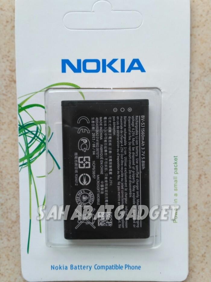 harga Baterai batre nokia bv5j bv-5j nokia lumia 435/532 battery ori100% Tokopedia.com