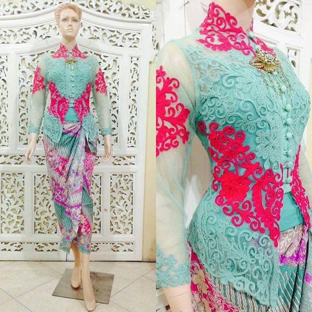 Jual Kebaya Bali Modern Cantik Wisuda Pesta Muslim Kota Surakarta Butik My Kebaya Tokopedia