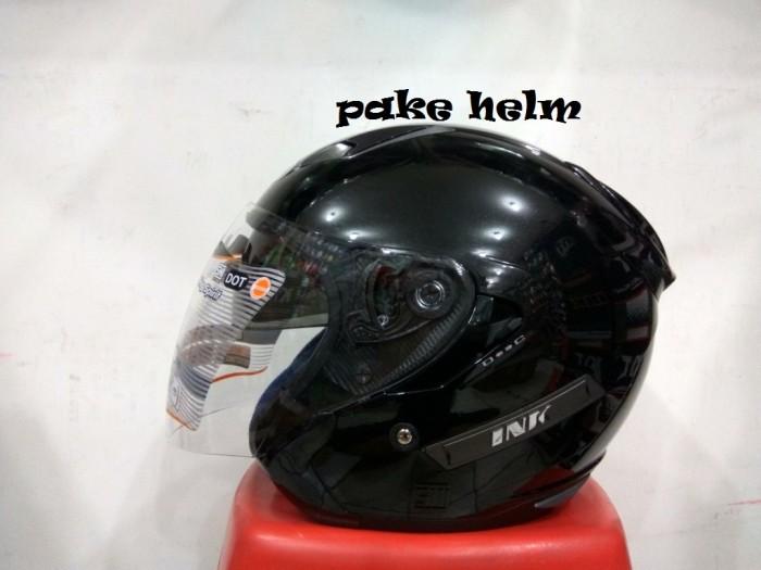 harga Helm ink metro solid hitam glossy Tokopedia.com