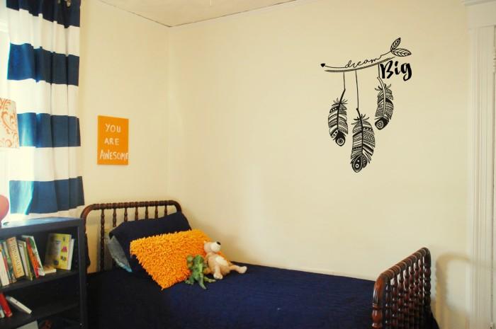 jual wall sticker motivational 'dream big' - kota malang - i wall