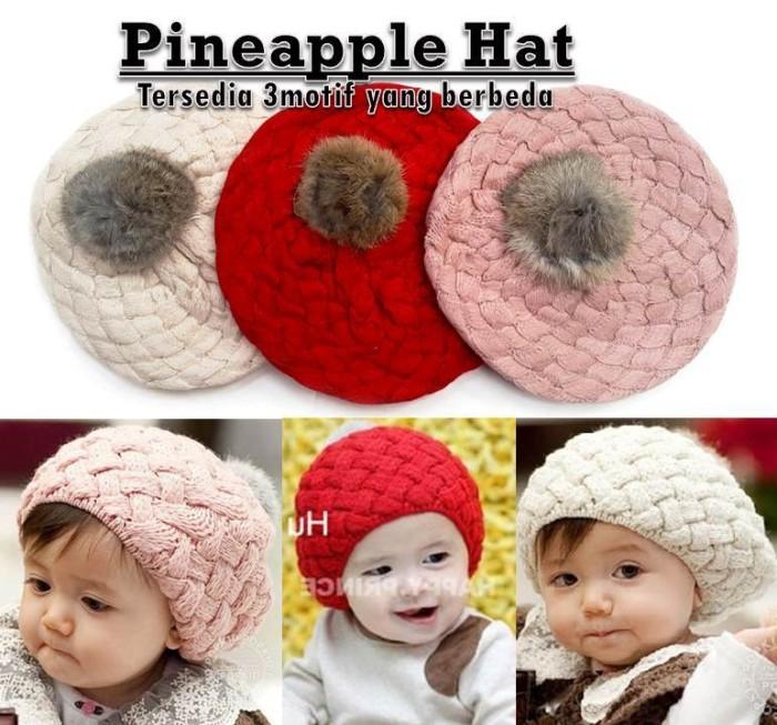 harga Topi bayi dan anak pineapple hat new color Tokopedia.com