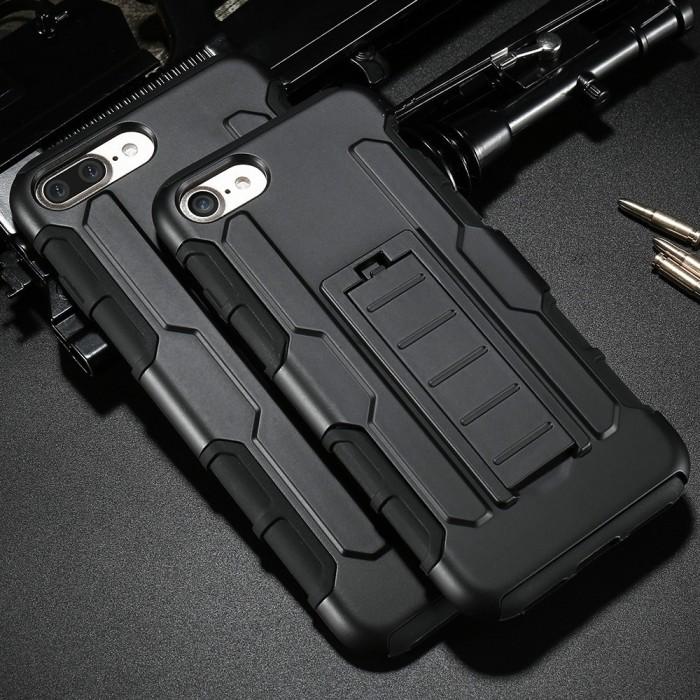 Case belt clip iphone 7+7 dompet/sarung/hp/tas/ikat pinggang