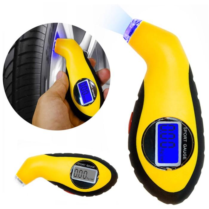 harga Manometer tekanan ban mobil digital lcd barometers - yellow Tokopedia.com