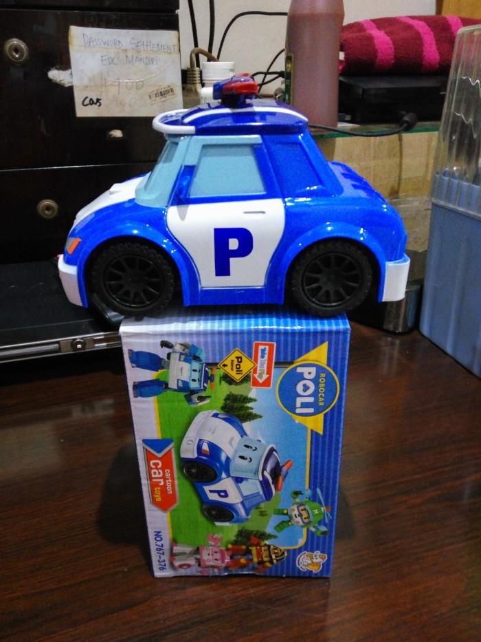 mainan anak mobil robot police robocar poli