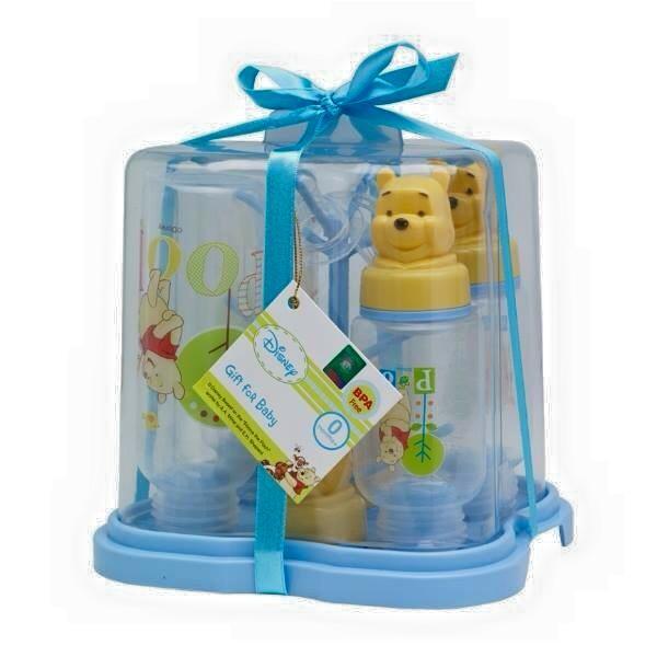 harga Gift set bayi/ kado bayi rak botol baby disney pooh/ botol susu bayi Tokopedia.com