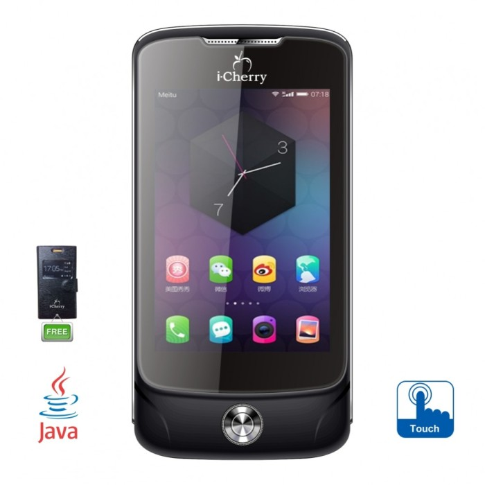 iCherry C222 Sunshine 35 inch Android Kitkat Pink Harga dan Source · RAM 256MB ROM 512MB