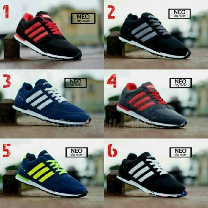 Jual Sepatu Adidas Murah Neo City Racer Cowok Bagus Grade - DKI ... 9fa4473c8