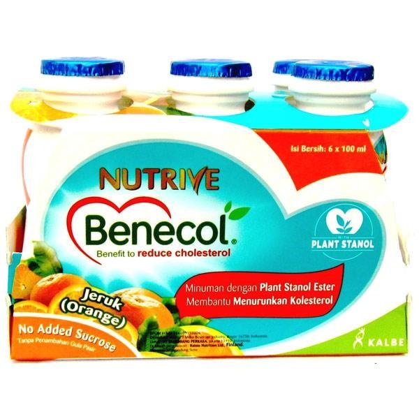 harga Nutrive benecol - paket isi 12 botol - bonus kontainer Tokopedia.com