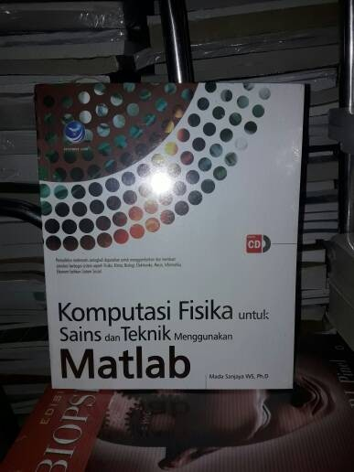 harga Komputasi fisika untuk sains dan teknik menggunakan matlab (plus cd) Tokopedia.com