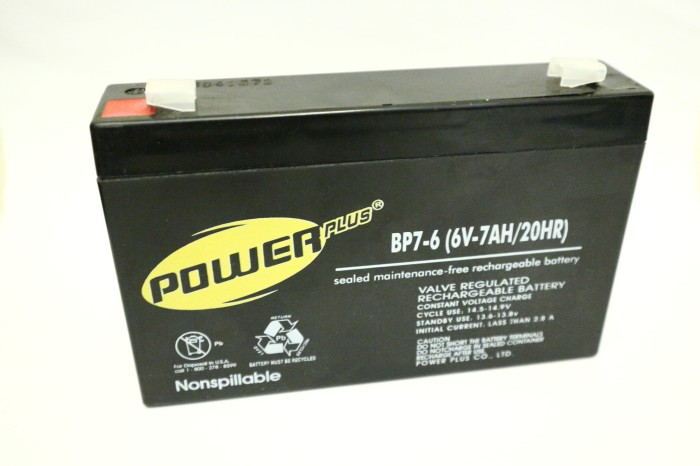 harga Aki 6v-7ah powerplus (battery kering alarm, mobil mainan anak, ups) Tokopedia.com