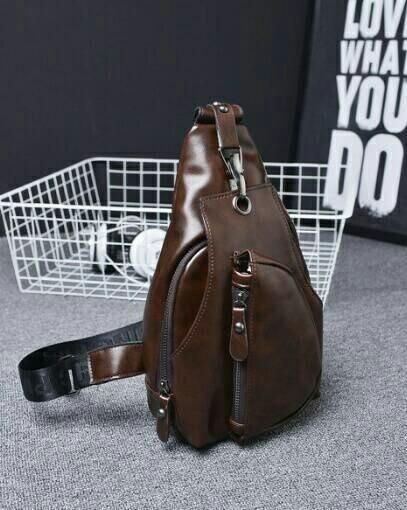 tas selempang pria import sling bag tas kulit impor tas pria wanita 8d211feb9b