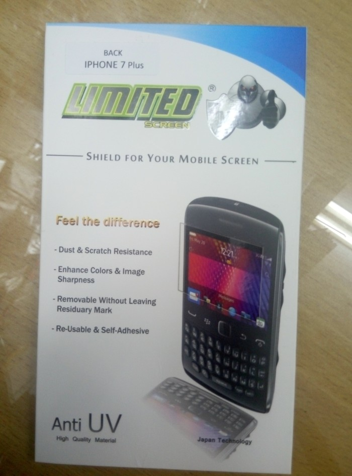 Anti gores belakang iphone 7 plus / 7+