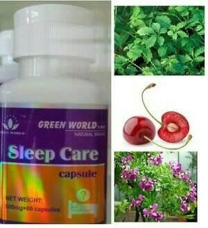 harga Obat susah tidur herbal/sleep care green world asli Tokopedia.com