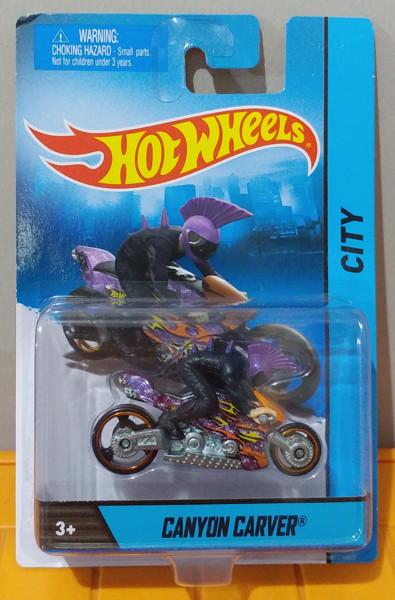Jual Hot Wheels Motorcycle Figure Canyon Carver Jakarta Selatan Blue Line Diecast Tokopedia