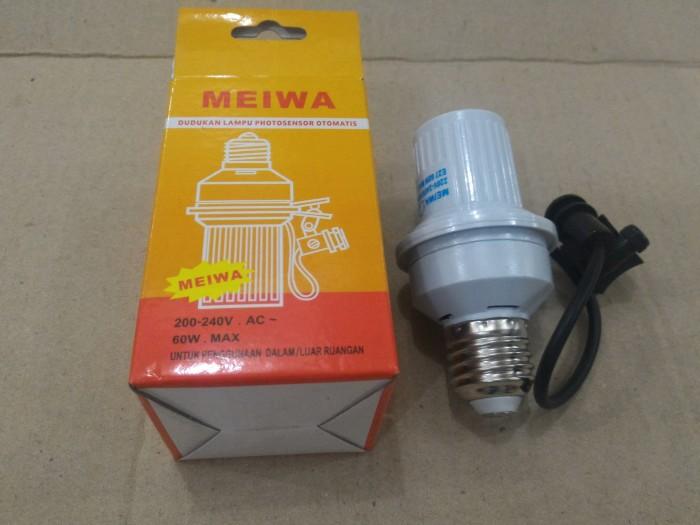 harga Sensor otomatis u/ mudik - fitting dudukan lampu listrik meiwa Tokopedia.com