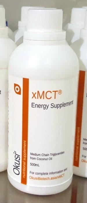 Foto Produk xMCT Energy - MCT Oil - 500ml premium dari Okusi Biotech
