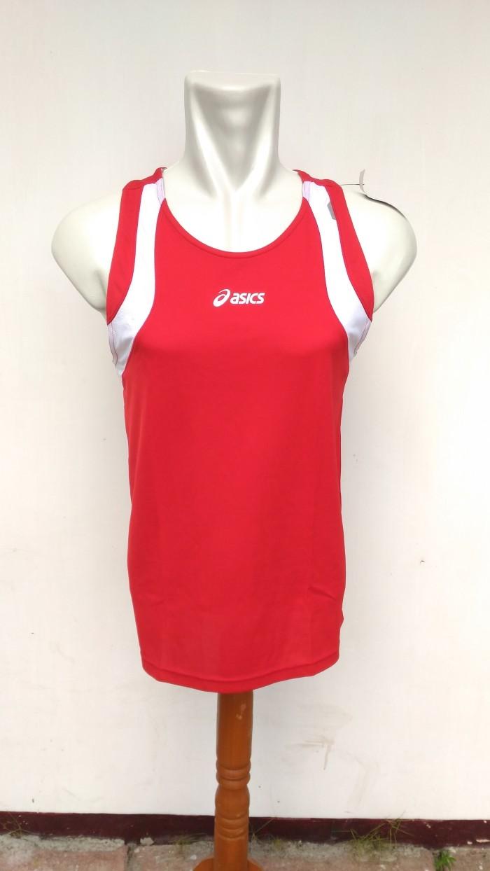 harga Kaos baju olahraga singlet asics sport fitness original pria cowok Tokopedia.com