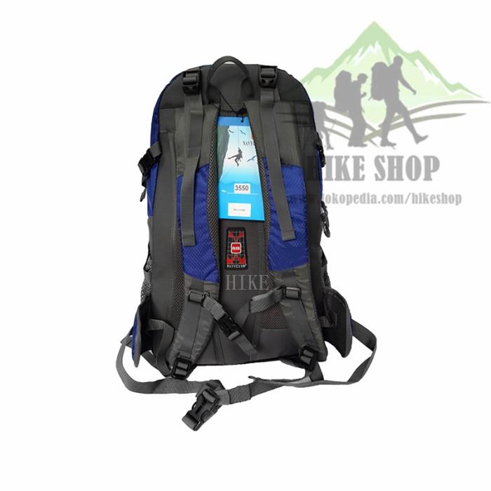 Navy Club Tas Hiking Backpack Ransel Travel Outdoor Carrier 3550 40 ... 6444b501c7