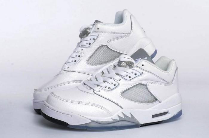 Pre Order Sepatu Basket NBA Cewe Air Jordan 5 Putih IMPORT. Toko dalam  status moderasi 6e65b11a43