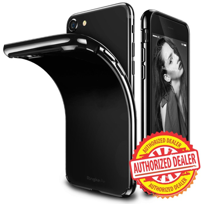 harga Original ringke air softcase iphone 7 jet black ink black Tokopedia.com