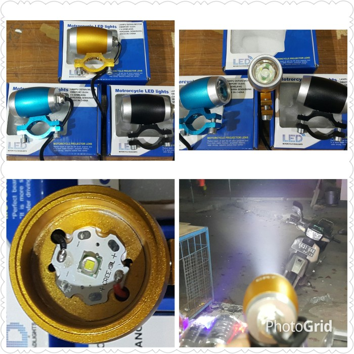 harga Lampu sorot tembak led cree mini drum Tokopedia.com