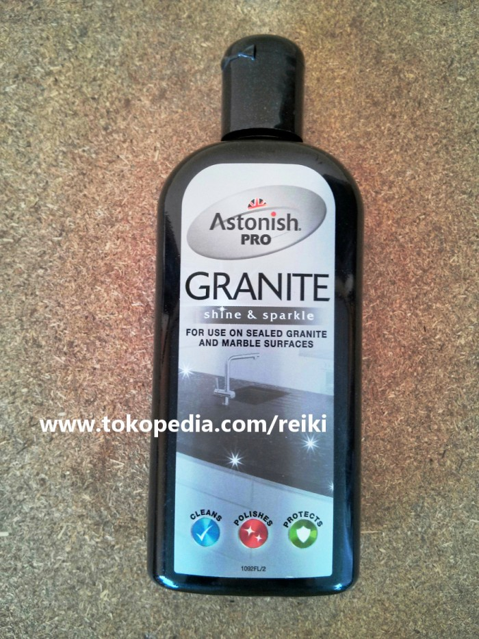 astonish pro granite astonish pro pembersih granit dan marmer 235ml