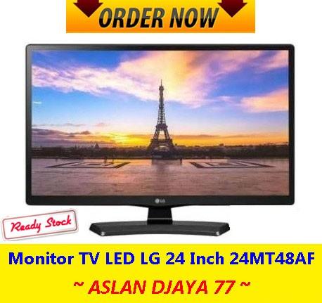Monitor TV LED LG 24 Inch 24MT48AF