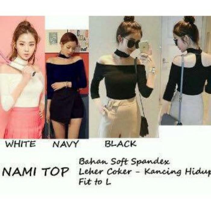 harga Nami top blouse sabrina Tokopedia.com