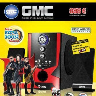 harga Speaker multimedia gmc 888e Tokopedia.com