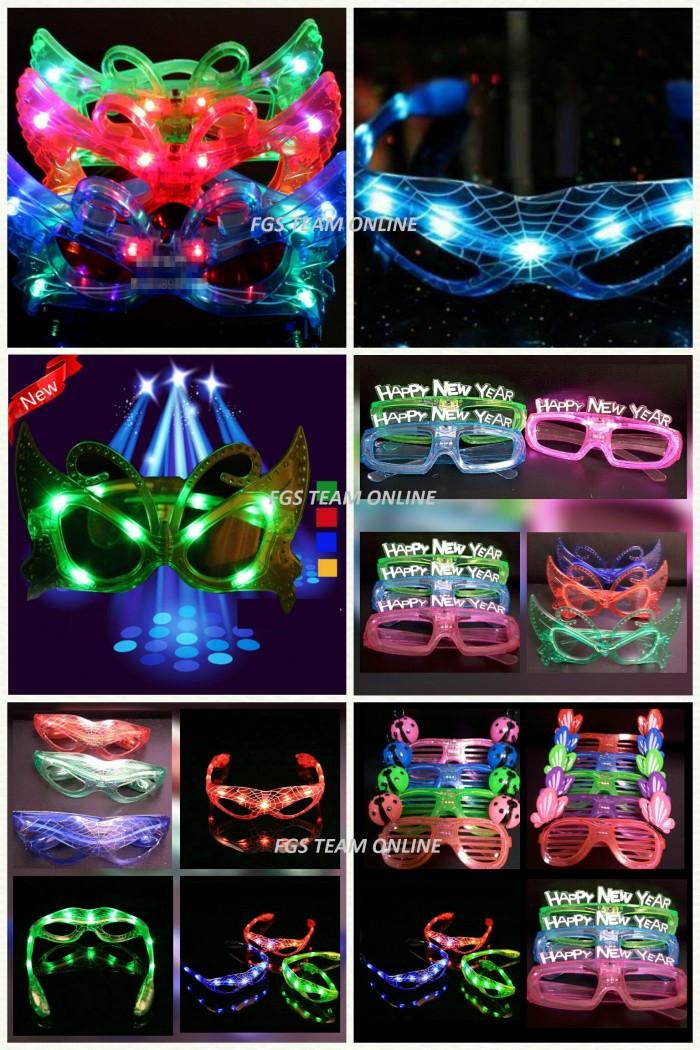 harga Barang unik kacamata gaya lampu led karakter 3 model lampu led acara Tokopedia.com