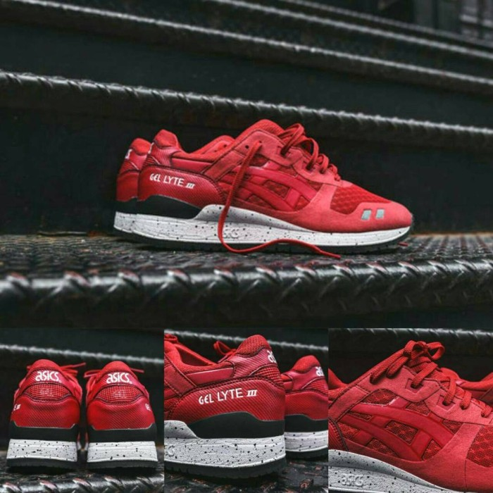 red asics gel lyte 3