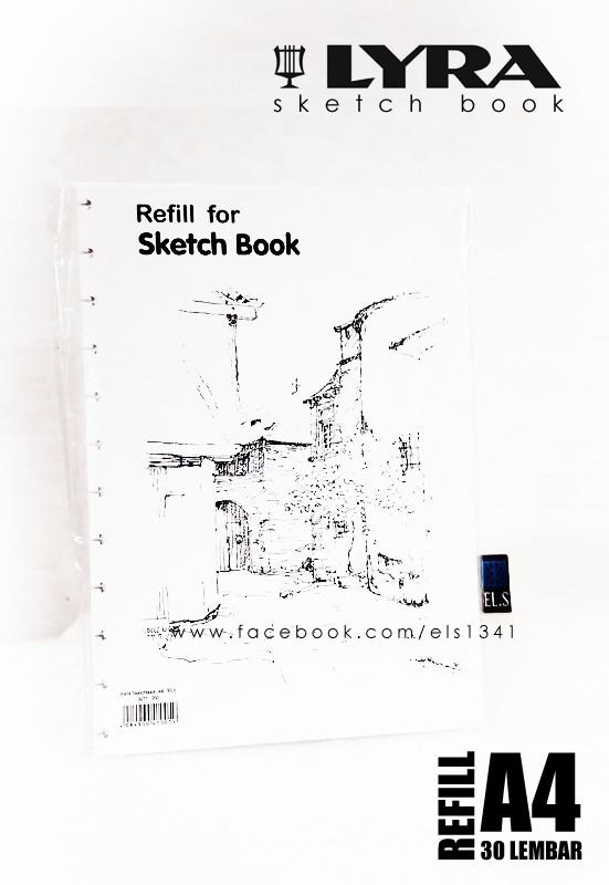 Foto Produk Refill Lyra Sketch Book A4 dari eLs_shop