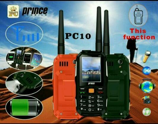 harga Pc10 prince pc-10 hp bisa ht powerbank (aldo 007 brandcode b68) Tokopedia.com