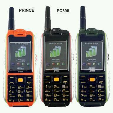 harga Pc398 prince pc-398 hp bisa powerbank 3 sim pengganti pc9000 b81 Tokopedia.com