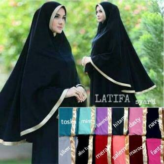 harga Jilbab / hijab / kerudung syari latifa jumbo Tokopedia.com