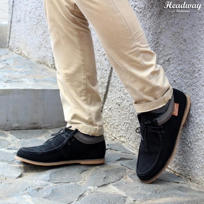 harga Sepatu casual pria/sneaker/sneakers loyal black Tokopedia.com