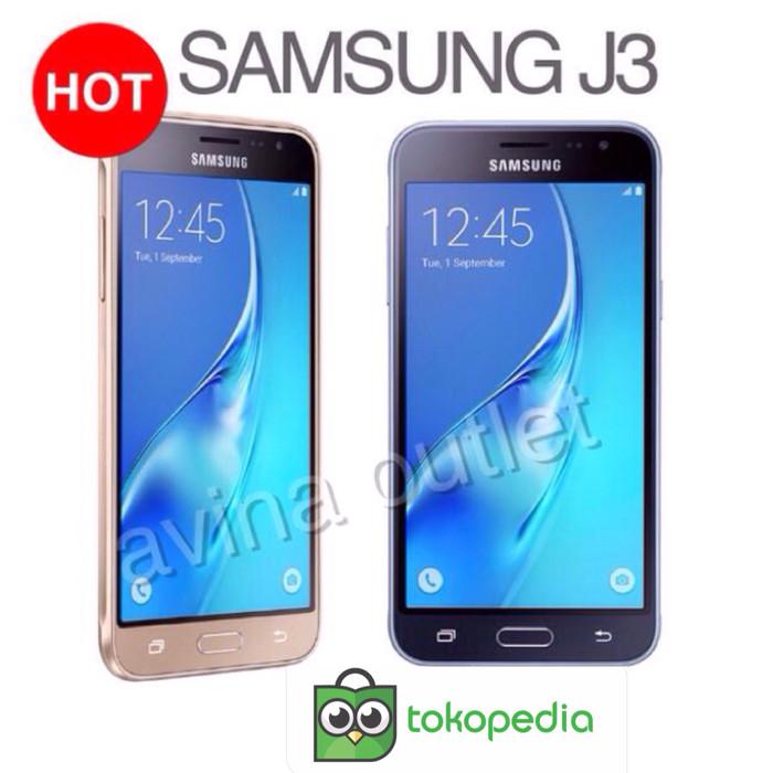 Samsung Galaxy J3 2016 Ram 1,5GB ROM 8GB - RESMI - Emas