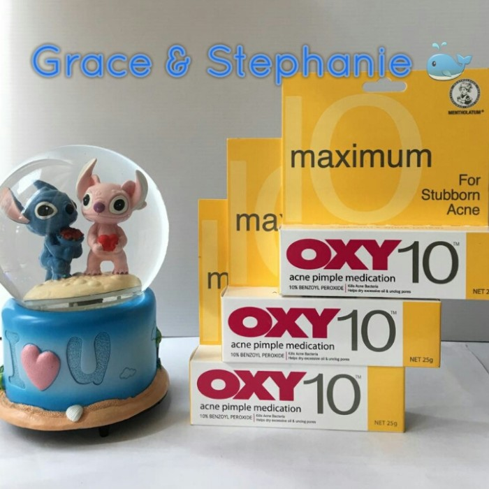 Jual OXY 10 25gr Acne Pimple Medication / Obat Jerawat