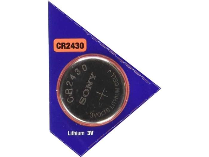harga Baterai kancing (button cell) lithium sony cr2430 (cr 2430) Tokopedia.com