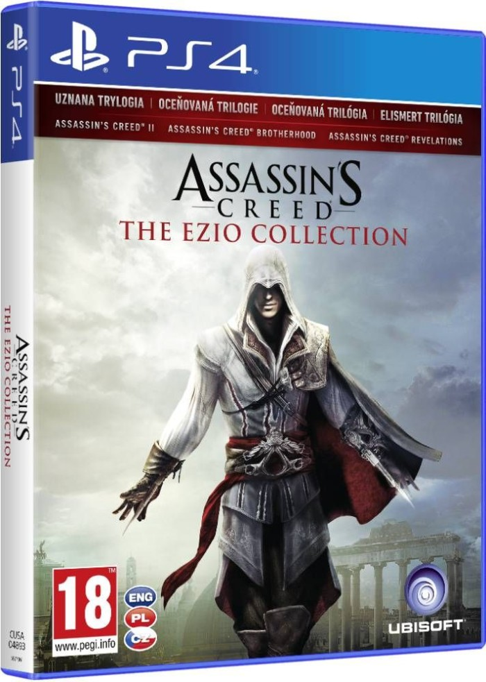 Jual Assassin Creed Ezio Collection Ps4 Jakarta Utara