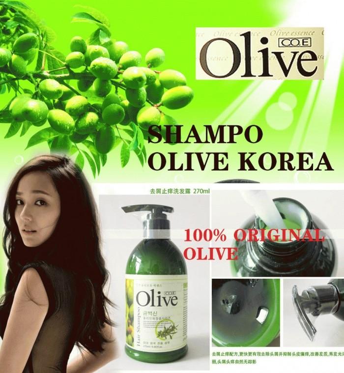 Olive Shampo - Shampoo Penyubur Dan Pemanjang Rambut - 270 mL