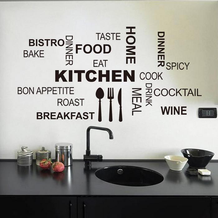 harga Kitchen Wall Sticker/stiker Dinding Dekorasi Dapur (tipe C, 58x30cm) Tokopedia