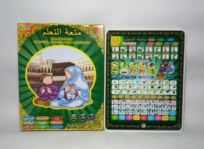 harga Playpad arab 3in1 3 bahasa Tokopedia.com