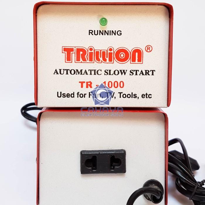 Foto Produk Inverator Soft Start Trillion 1000 W Power 1000W Watt Slow Anti Jeglek dari Cahaya Elektronik Solo
