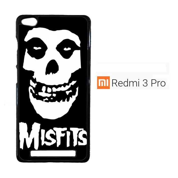 harga Horror punk rock band misfits skull z0506 casing xiaomi redmi 3 pro / Tokopedia.com