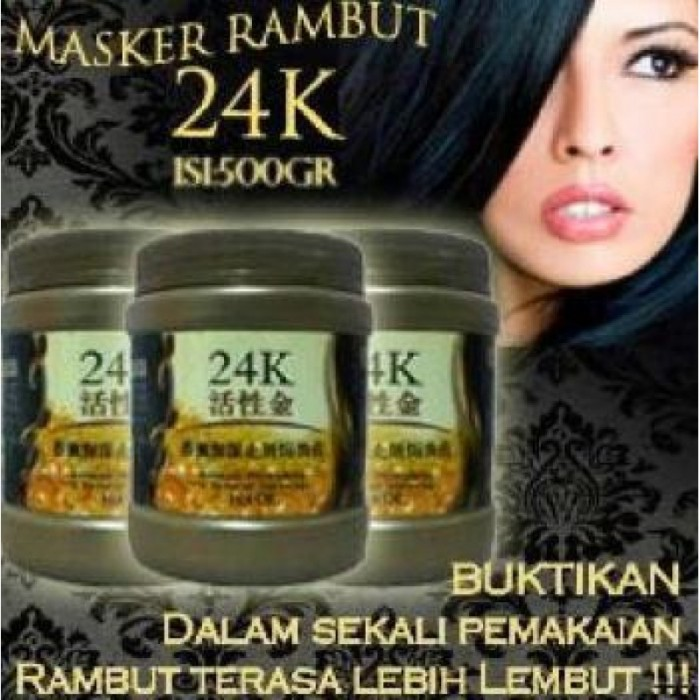 ... Masker Rambut 24k - Active Gold Repair Hot Oil 500ml ...