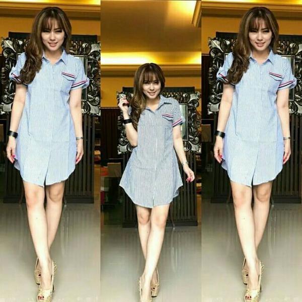 Jual Long Dress Terbaru Gambar Baju Dress Model Dress Panjang Blouse Two Li Kab Subang Rumah Boneka Shafa Tokopedia