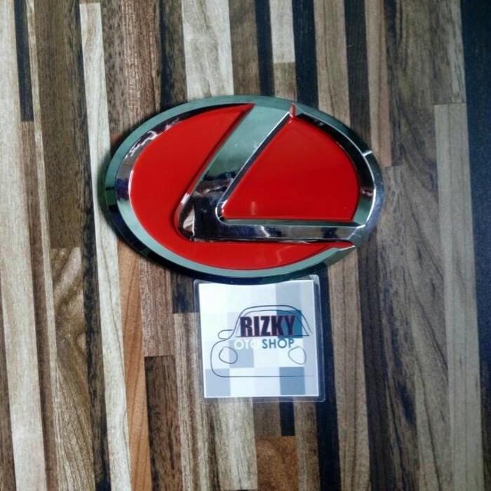 Foto Produk Emblem Lexus Model Jdm Ukuran 15cm dari Oto Rizky Shop