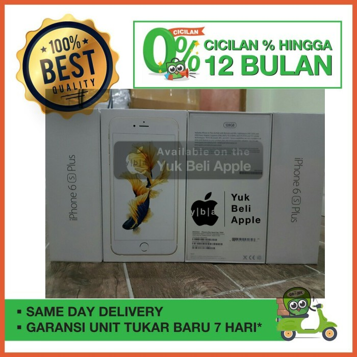 harga [best seller]iphone 6s 128gb rosegold bnib garansi apple 1 tahun new Tokopedia.com