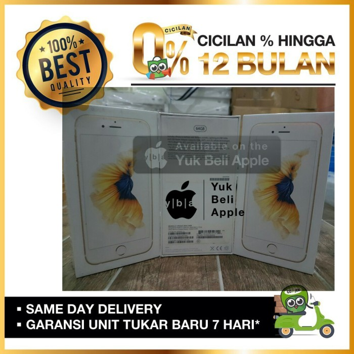 harga [best seller]iphone 6s plus 64gb rosegold bnib garansi 1 year new Tokopedia.com